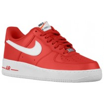 Nike Air Force 1 Low Rot/Weiß Herren Sneaker