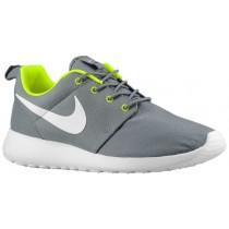 Nike Roshe One Herren Laufschuhe Cool Grau/Volt/Weiß