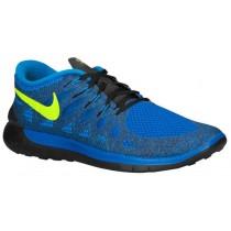 Nike Free 5.0 Herren Turnschuhe Hyper Kobalt/Volt/Foto Blau/Schwarz/Elektrisch Grün