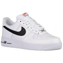 Nike Air Force 1 Low Weiß Schwarz Herren Sportschuheschuhe