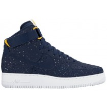 Nike Air Force 1 High Herren Basketball Midnacht Marine/Uni-Mais/Weiß