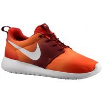 Herren Nike Roshe One Team Orange/Hell Mandarin/Team Rot/Weiß Runningschuh