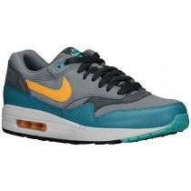 Nike Air Max 1 Essential Herren Sportschuhe Cool Grau/Catalina/Anthrazit/Laser Orange