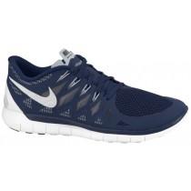 Nike Free 5.0 Herren Sneaker Midnacht Marine/Weiß/Cool Grau/Wolf Grau