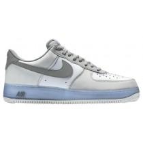 Nike Air Force 1 Low Weiß/Grau/Hellblau Herren Sneaker