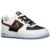Nike Air Force 1 Low Herren Sneakers Weiß/Kupfer/Schwarz