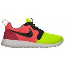 Nike Roshe One Hyperfuse/Premium Volt/Schwarz/Hyper Punch Herren Turnschuhe
