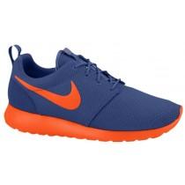 Nike Roshe One Dunkel Royal Blau/Team Orange/Volt Herren Laufschuhe