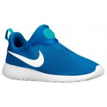 Nike Roshe One Slip On Herren Sportschuhe Militär Blau/Foto Blau/Turbo Grün/Weiß