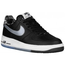Nike Air Force 1 Low Herren Athletic Schwarz/Metallic Silber/Weiß