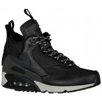 Nike Air Max 90 Sneakerboot Schwarz/Magnet Grau Herren Sneakerboot