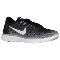Herren Nike Free Rn Distance Schwarz/Weiß/Dunkel Grau/Wolf Grau Laufschuhe