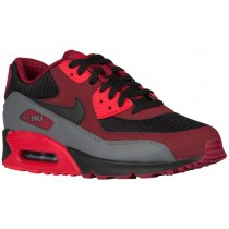 Nike Air Max 90 Essential Herrensneake Team Rot/Schwarz/University Rot/Dunkel Grau