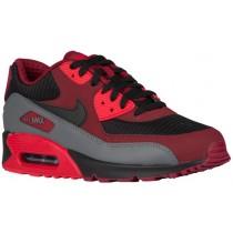 Nike Air Max 90 Essential Herrensneake Team Rot/Schwarz/University Rot/Dunkel Grau