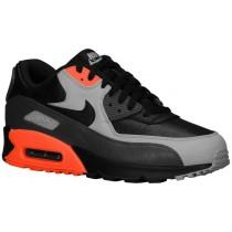 Nike Air Max 90 Herren Sneakers Schwarz/Mittel Asche/Gesamt Crimson