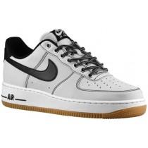 Herren Nike Air Force 1 Low Rein Platin/Weiß/Gum Licht Braun/Schwarz Sportschuheschuhe