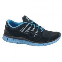 Nike Free 5.0+ Ext Herren Sportschuhe Schwarz/Anthrazit/Sail
