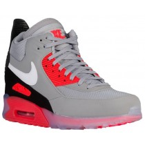 Nike Air Max 90 Sneakerboot Ice Wolf Grau/Anthrazit/Infrarot/Weiß Herren Sneakers