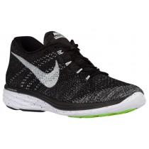 Nike Flyknit Lunar 3 Herrenschuh Schwarz/Midnacht Fog/Wolf Grau/Weiß