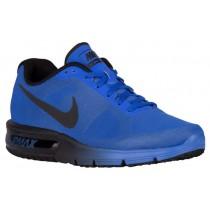 Nike Air Max Sequent Herren Running Schuhe Rennfahrer Blau/Schwarz