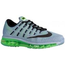 Nike Air Max 2016 Herren Schuhschaft Blau Grau/Elektrisch Grün/Ozean Fog/Schwarz