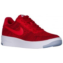 Nike Air Force 1 Ultra Flyknit Low Herren Athletic Shoes University Rot/Weiß