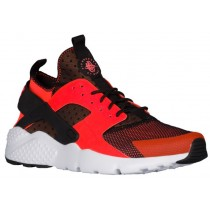 Nike Air Huarache Run Ultra Schwarz/Weiß/Gesamt Crimson Herren Turnschuhe