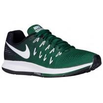 Nike Air Zoom Pegasus 33 Gorge Grün/Weiß/Schwarz/Rein Platin Herren Schuhschaft
