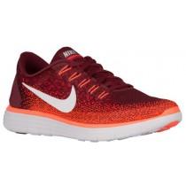 Herren Nike Free Rn Distance Team Rot/University Rot/Gesamt Crimson/Aus Weiß Running Schuhe