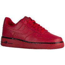 Herren Nike Air Force 1 Low Rot/Schwarz Sneakers
