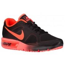 Nike Air Max Sequent Herrenschuhe Schwarz/Gesamt Crimson