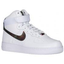 Nike Air Force 1 High Lv8 Weiß/Metallic Gold Herren Sneaker