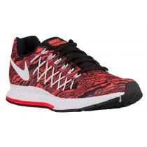 Herren Nike Air Zoom Pegasus 32 Gesamt Crimson/Schwarz/Weiß/Drucken Schuhschaft