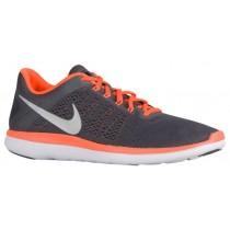 Nike Flex Rn 2016 Herren Sportschuhe Dunkel Grau/Gesamt Orange/Schwarz/Metallic Silber
