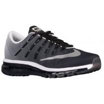 Herren Nike Air Max 2016 Schwarz/Weiß/Reflektierend Silber/Drucken Running Schuhe