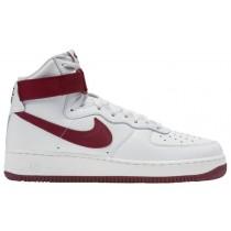 Herren Nike Air Force 1 High Retro Summit Rot/Team Rot Sneaker