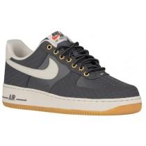 Herren Nike Air Force 1 Low Grau/Braun Sportschuhe