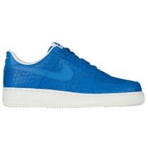 Herren Nike Air Force 1 Lv8 Blau-Weiß Basketball