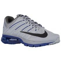 Nike Air Max Excellerate 4 Wolf Grau/Schwarz/Dunkel Royal Blau/Dunkel Grau Herren Running Schuhe