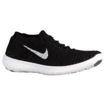 Nike Free Rn Motion Herren Laufschuhe Schwarz/Weiß/Volt/Dunkel Grau
