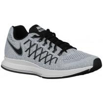 Nike Air Zoom Pegasus 32 Rein Platin/Dunkel Grau/Schwarz Herren Runningschuh