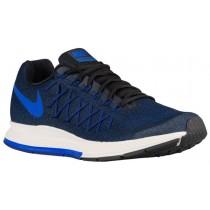 Nike Air Zoom Pegasus 32 Schwarz/Dunkel Royal Blau/Sail/Rennfahrer Blau Herren Laufschuhe