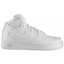 Damen Nike Air Force 1 '07 Mid Weiß Sneaker