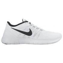 Nike Free Rn Weiß/Schwarz Damen Schuhschaft