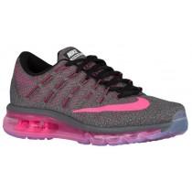Nike Air Max 2016 Dunkel Grau/Schwarz/Wolf Grau/Rosa Blast Damen Running Schuhe