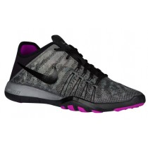Nike Free Tr 6 Damen Sports Metallic Silber/Hyper Violett/Schwarz