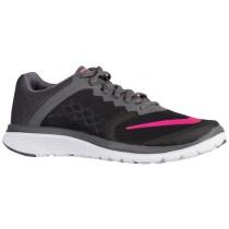 Nike Fs Lite Run 3 Schwarz/Dunkel Grau/Weiß/Rosa Blast Damen Laufschuh