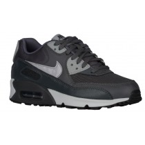 Nike Air Max 90 Essentials Dunkel Grau/Wolf Grau/Anthrazit/Rein Platin Damen Running Schuhe