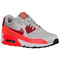 Nike Air Max 90 Essentials Rein Platin/Gym Rot/Gesamt Crimson Damen Turnschuhe