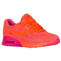 Damen Nike Air Max 90 Ultra Breathe Gesamt Crimson/Rosa Blast Sneakers